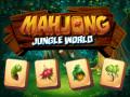 Žaidimai Mahjong Jungle World