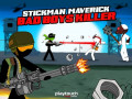 Žaidimai Stickman Maverick: Bad Boys Killer